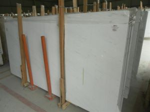 Yugoslavia White Marble Slab for Countertops and Building Materials