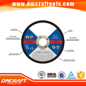 Resin Bonded Cutting Discs pictures & photos