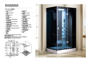 Hot Sales Steam Room Shower Room (D533) pictures & photos