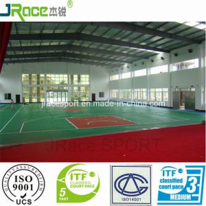 Wear Resistant Basketball Court Sport Flooring pictures & photos
