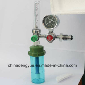 Oxygen Flowmeter with Humidifier Bottle pictures & photos
