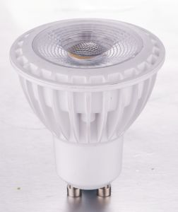 7W COB GU10 LED Spotlight MR167A LED Light LED Lamp LED Spotlighting for Indoor Withce RoHS (LES-MR16A-7W)