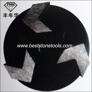 R09 Floor Metal Bond Diamond Concretes with 3 Arrow Segment