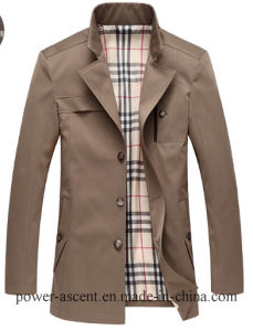 Top-Quality Men′s Spring/Autumn Classic Wind-Proof Casual Jacket pictures & photos