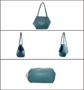 Casual PU Lady′s Fashion Handbag pictures & photos
