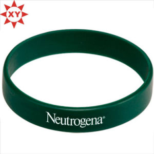 Dark Green Silicon Wristband Size for Adults pictures & photos