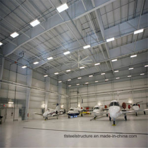 China Style Light Steel Frame Structure Prefabricated Warehouse Hangar pictures & photos