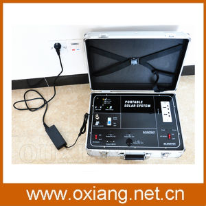 Portable 500W Solar Home Power System Briefcase Solar Generator for Fans TV and Lighting pictures & photos
