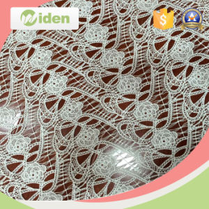 Milky Poly Chemical Lace Embroidery Fabric Market in Dubai pictures & photos