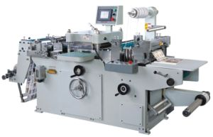 Adhesive Label Die Cutting Machine (MQ320) pictures & photos