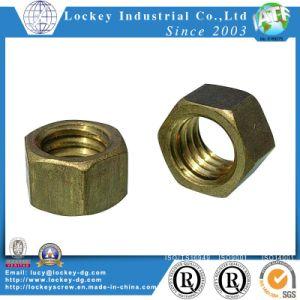 Brass Hex Nut M6 (DIN555) pictures & photos