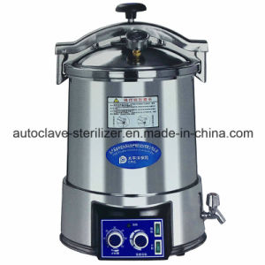 24liters Dental Autoclave Portable Steam Sterilizer for Sale pictures & photos
