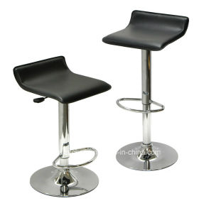 Backless Hard PVC Bar Stool Zs-1022 pictures & photos