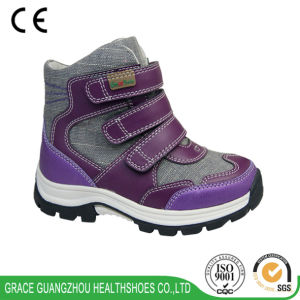 Grace Ortho Children Shoes Support Shoes Winter Boot pictures & photos