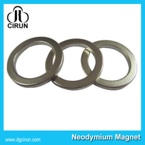 Custom Size Strong N52 Neodymium Ring Magnet pictures & photos