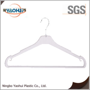 Popular Plastic Woman Hanger with Metal Hook for Display (40cm) pictures & photos