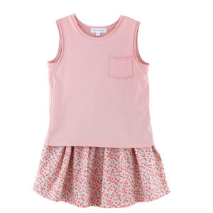 100% Cotton Sleeveless Children T-Shirt for Girls pictures & photos
