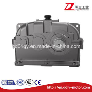 Zly Double Stage Ratio Reduction Cylindrical Crane Duty Gear Box pictures & photos