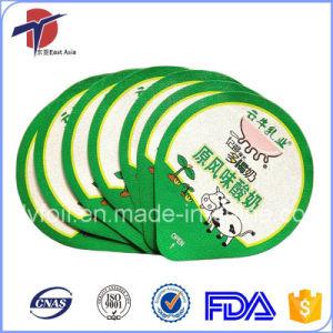 Printed PP Yogurt Cup Aluminum Foil Lids pictures & photos