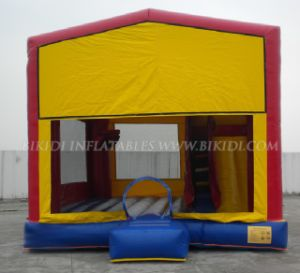Frozen Inflatable Moonwalk Bounce House for Kids, Art Panels Inflatable Combo to USA pictures & photos