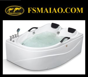 Luxury Two-Seats Whirlpool Massage Acrylic Jacuzzi Hot Tub (MG-206) pictures & photos