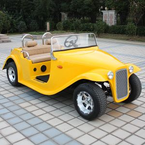 CE 4 Person Electric Vintage Golf Cart for Sale (DN-4D) pictures & photos