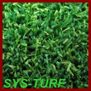 Bicolor Yarn Grass Turf for Golf Putting Green pictures & photos