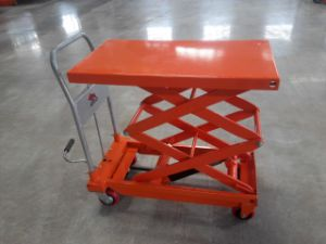 0.9m-1.3m Hydraulic Scissor Table Truck pictures & photos