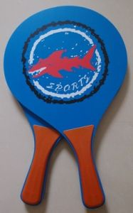 Wooden Beach Racket Set with Ball pictures & photos