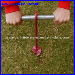 Power Coated Steel Forged Helix Ground Anchor for Us Market pictures & photos