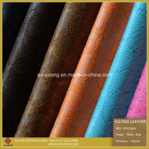 Snake Pattern Cloth Fabric (BY011) pictures & photos