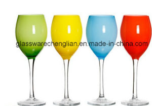 Various Solid Color Wine Glass (B-WG039) pictures & photos