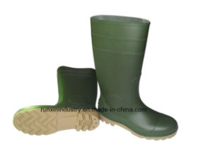 Safety PVC Rain Boots with Steel Toe 106gy pictures & photos