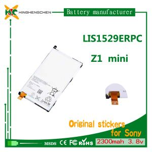 China Mobile Phone Battery for Sony Xperia Z1 Mini D5503 2300mAh 3.8V Battery pictures & photos