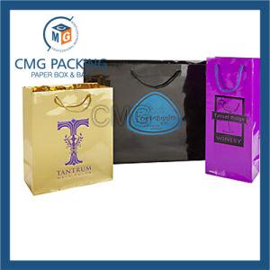 High Glossy Logo Printed Paper Bag (DM-GPBB-147) pictures & photos