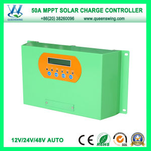 50A Auto 12/24/48V MPPT Solar Charge Regulator with LCD (QWM-JR50A) pictures & photos