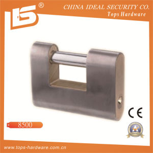 High Quality Iron Rectangle Padlock (8500) pictures & photos