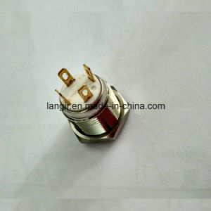 19mm Short Body Ring Illumination Push Button Switch pictures & photos