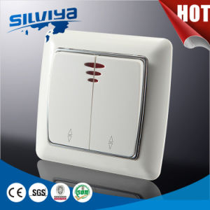 Wall Switch with LED Indicator Light pictures & photos