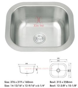 Stainless Steel Bar & Prep Sink (LA74) pictures & photos