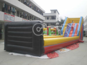 High Quality Zorb Ramp Inflatable Slide for Wholesale (chsp111-2) pictures & photos