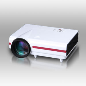 Best Selling 1280*768 Multimedia Home Cinema Projector pictures & photos