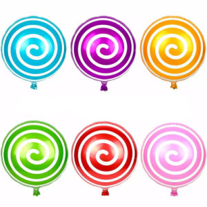 Kids Toy Candy Shape Lollipop Balloons pictures & photos