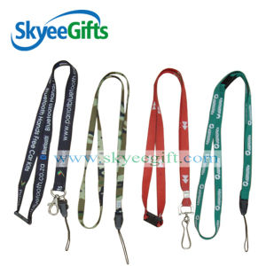 Promotional Cheap Custom Polyester Lanyard with Logo pictures & photos