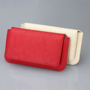 Universal Soft PU Cell Phone Pouch for Samsung/LG