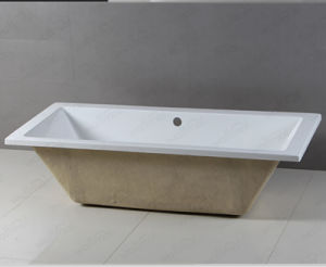 Cupc Simple Drop-in Bathtub for UK Market pictures & photos