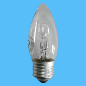 C35 220-240V 18W Candle E14 Halogen Lamp pictures & photos