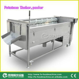 Potatoes Washing Machine, Peeling Machine Mstp-1000 pictures & photos