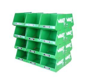 Wholesale Printed Cardboard Promotional Pallet Counter Display Box 47 pictures & photos
