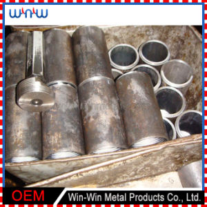 Machined Part (WW-MP1015) Custom Material Size Metal Pipe Connecting Parts pictures & photos